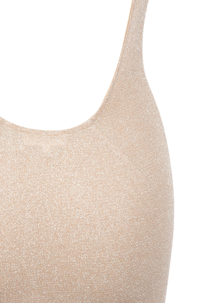 the luxelife dress in nude