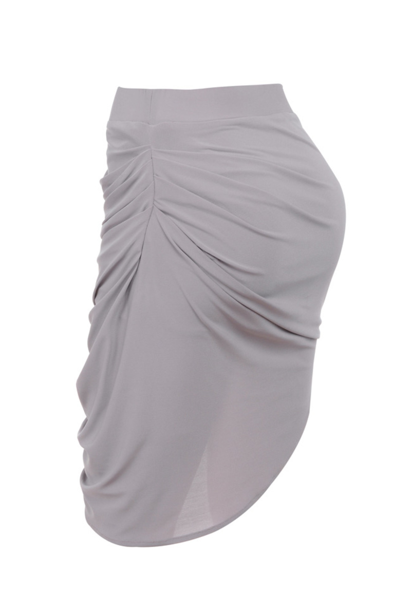 the tali skirt in grey