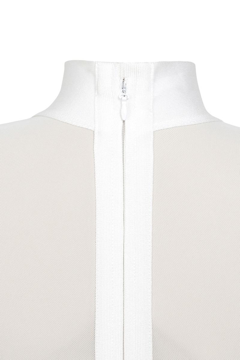 femme fatale white dress