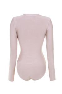 babycakes bodysuit in lilac