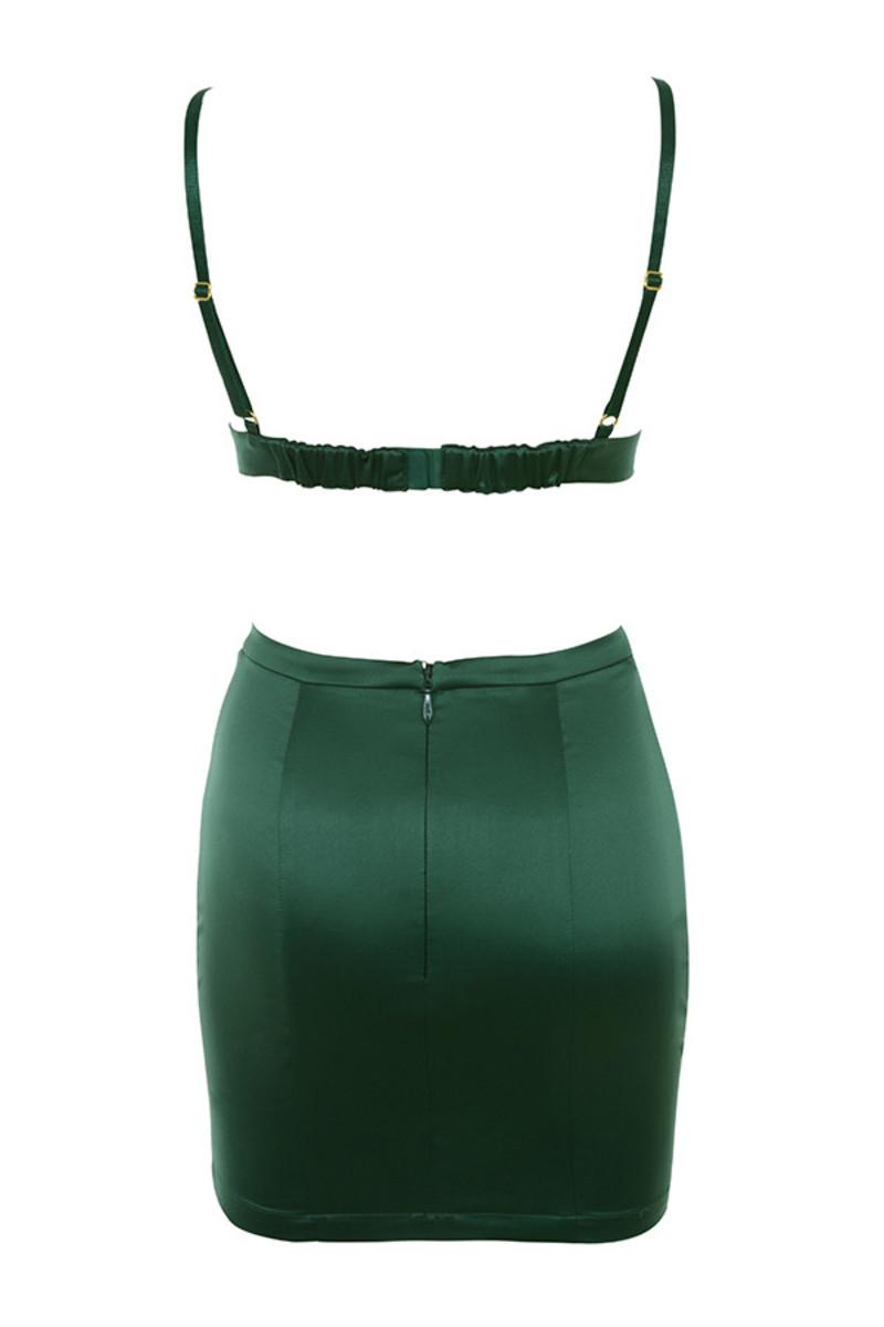 smitten 2 piece in emerald