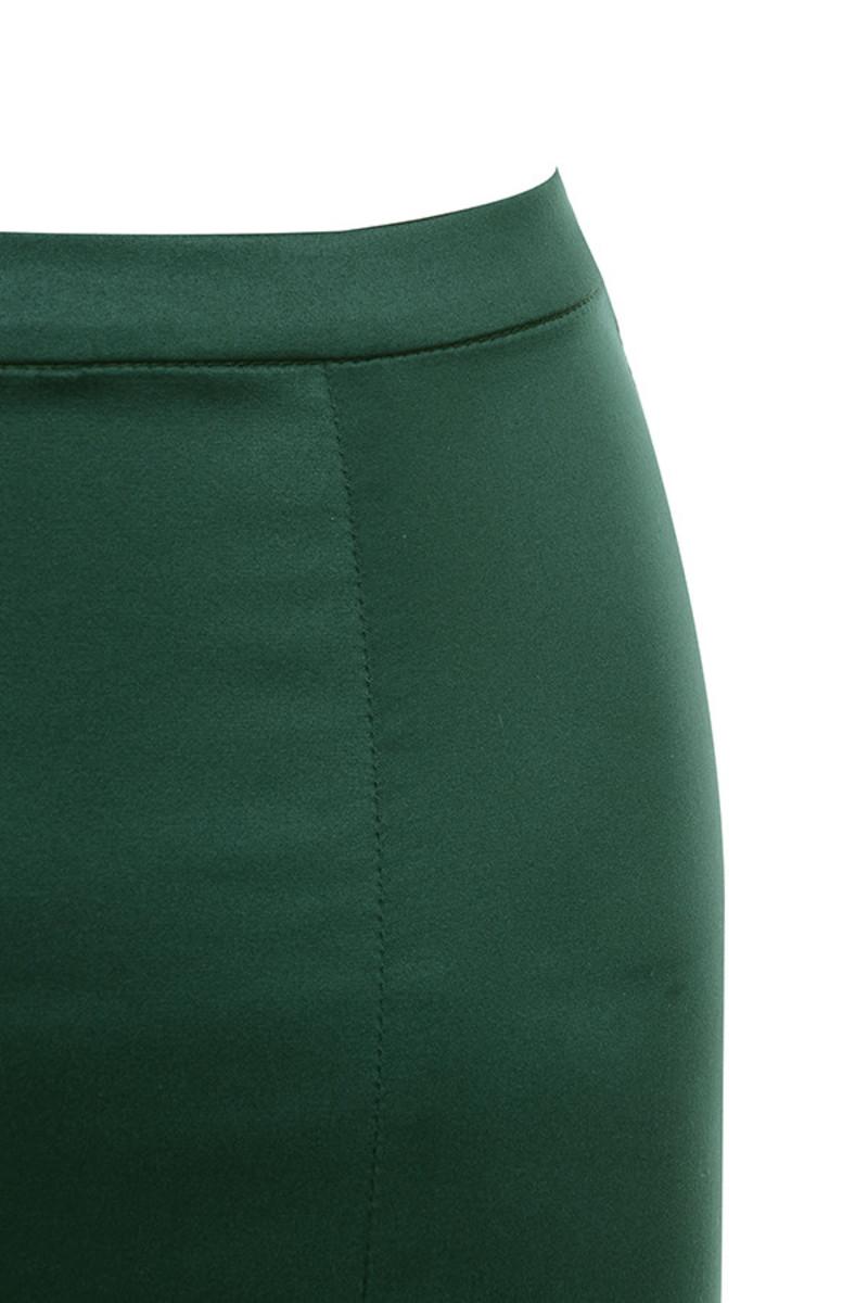emerald smitten dress