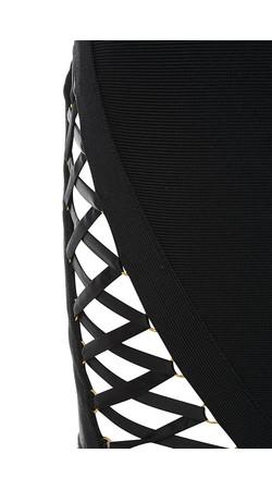 black kisses dress