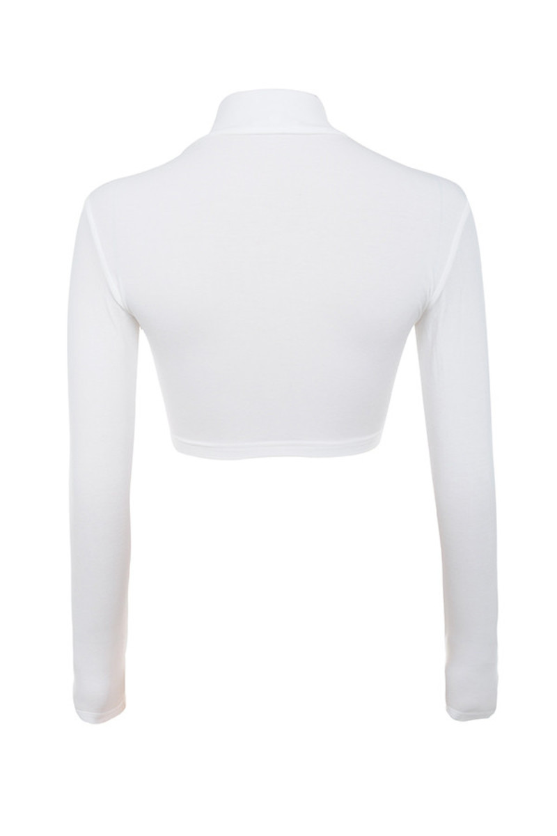 freedom top in white