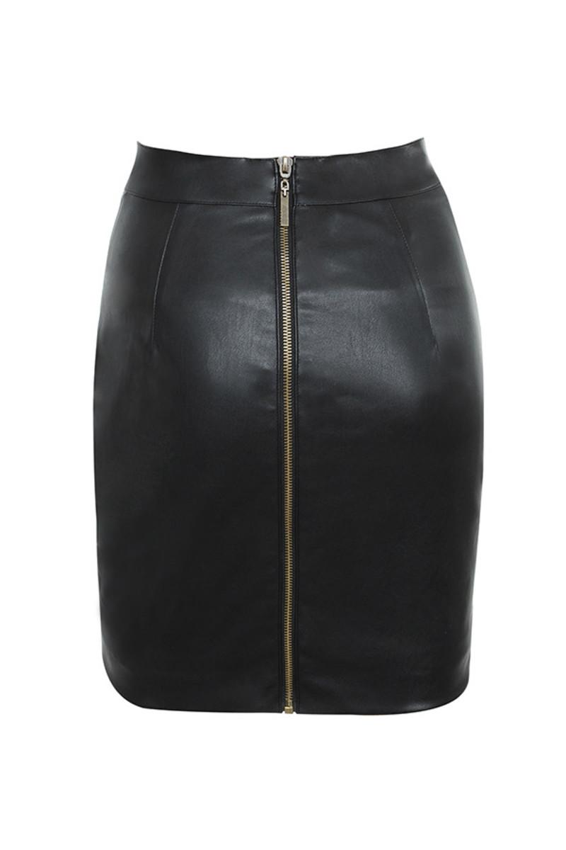 misnomer skirt in black