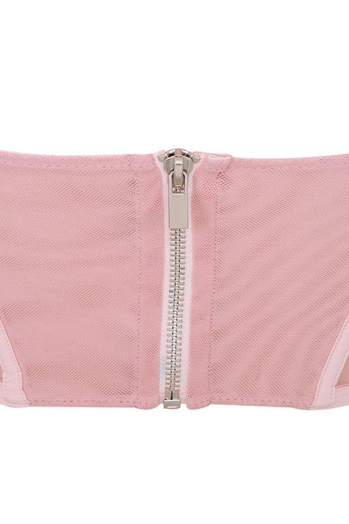 pink dara top