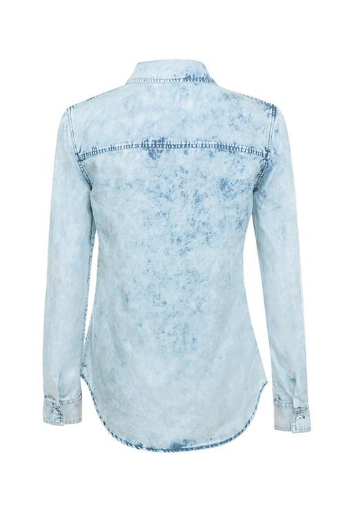 galaxy shirt in denim