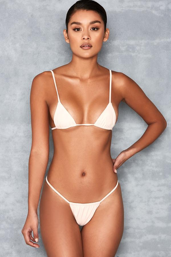 Next To Nothing Blush Micro Bikini