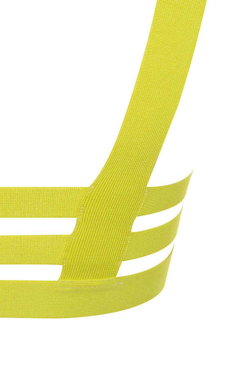 euphoria top in yellow