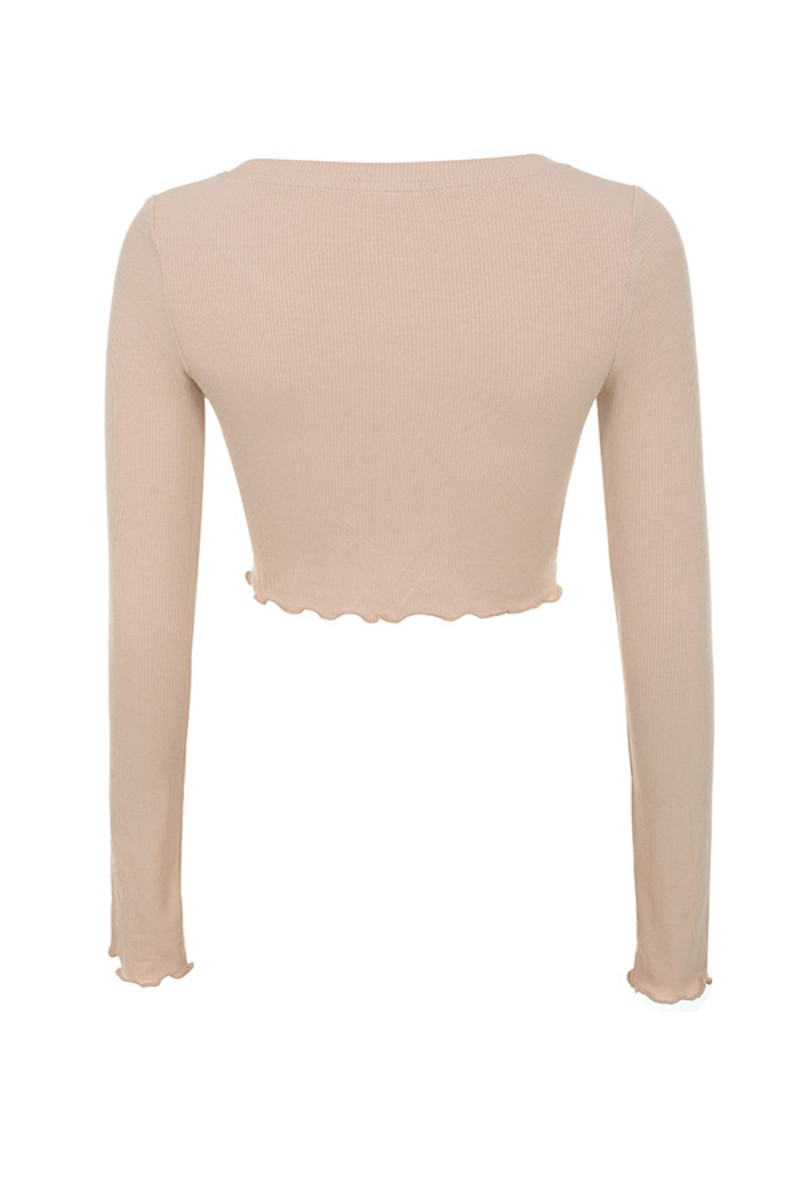 tijuan top in nude