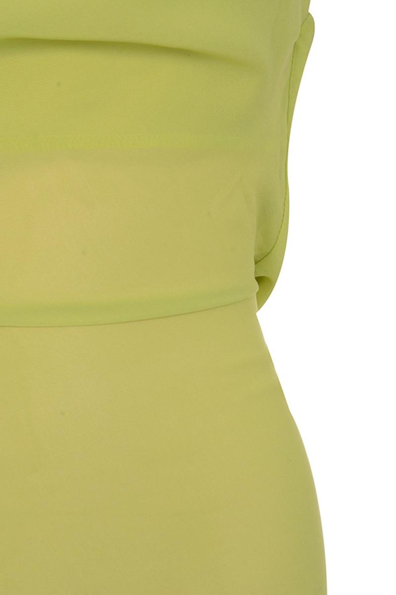 lime vacay dress
