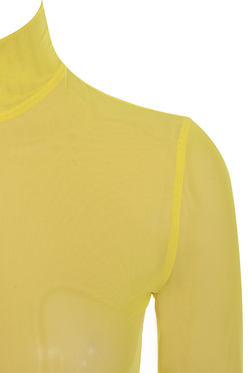 yellow angel face top