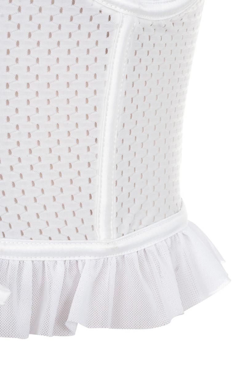 white floozy top